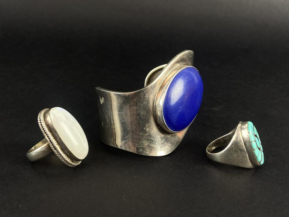 Mid Modern Southwest Style Sterling Jewelry
