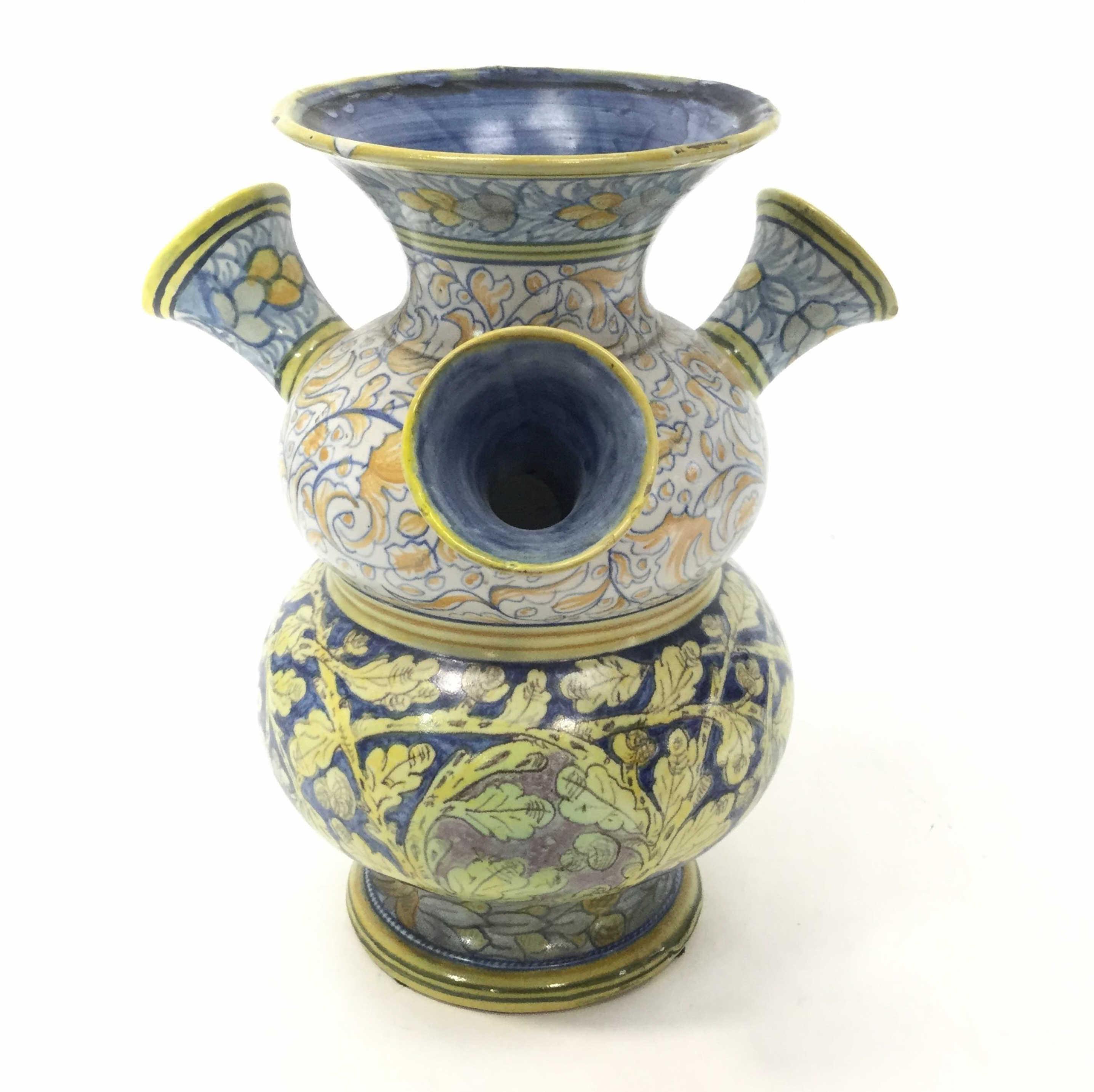 Cantagalli Italian Faience Vase