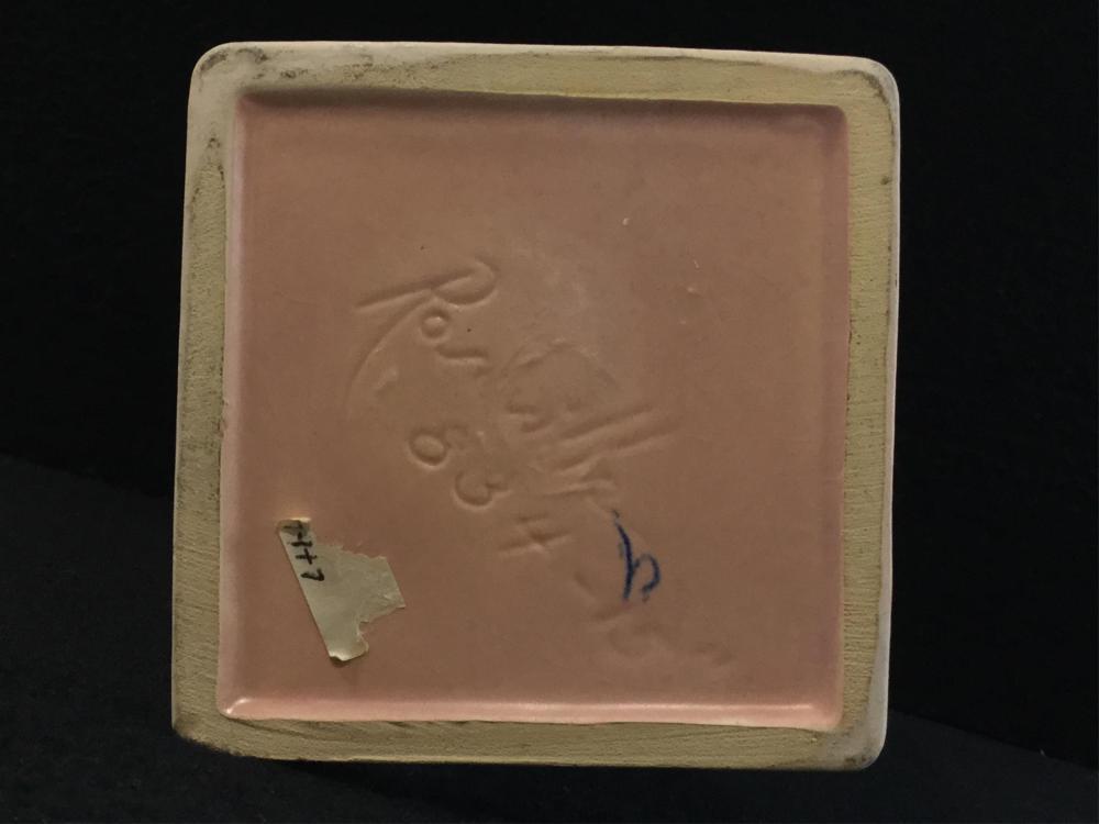 1930's Roseville Pottery Ewer Pink Dawn Vase