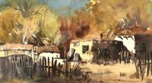 James Butler (b.1925) Framed Watercolor