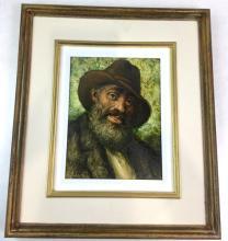 Jose P. Licatti (1910-1990) Oil On Board