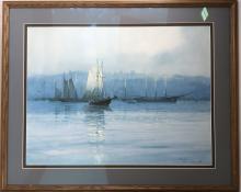 Paul Landry (1933-) Signed Limited Art Print