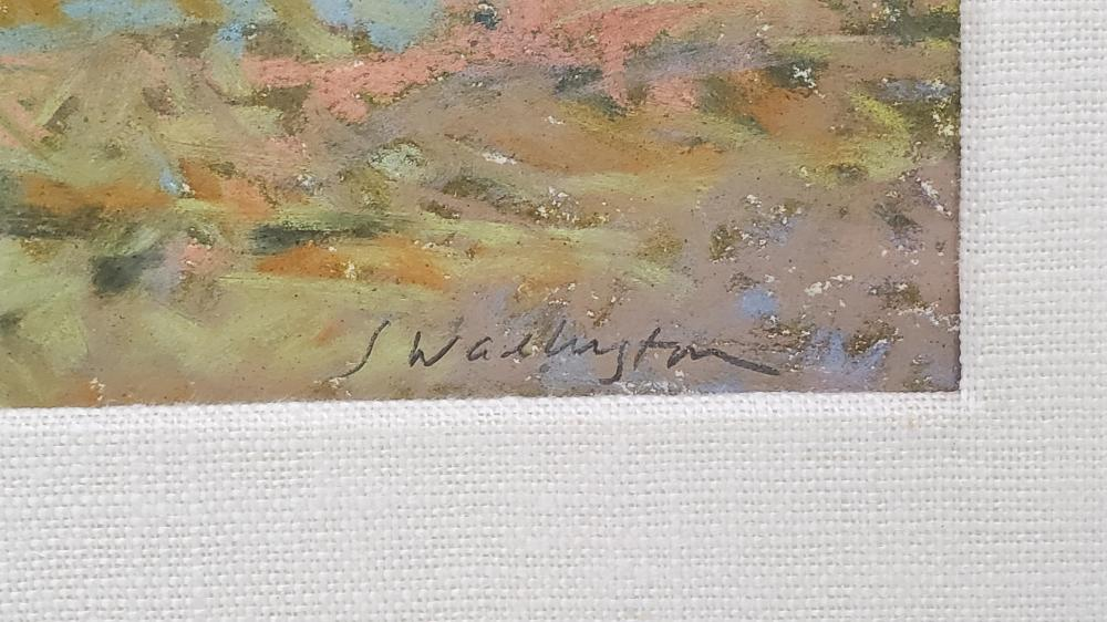 Sandy Wadlington (20th C.) Pastel On Paper