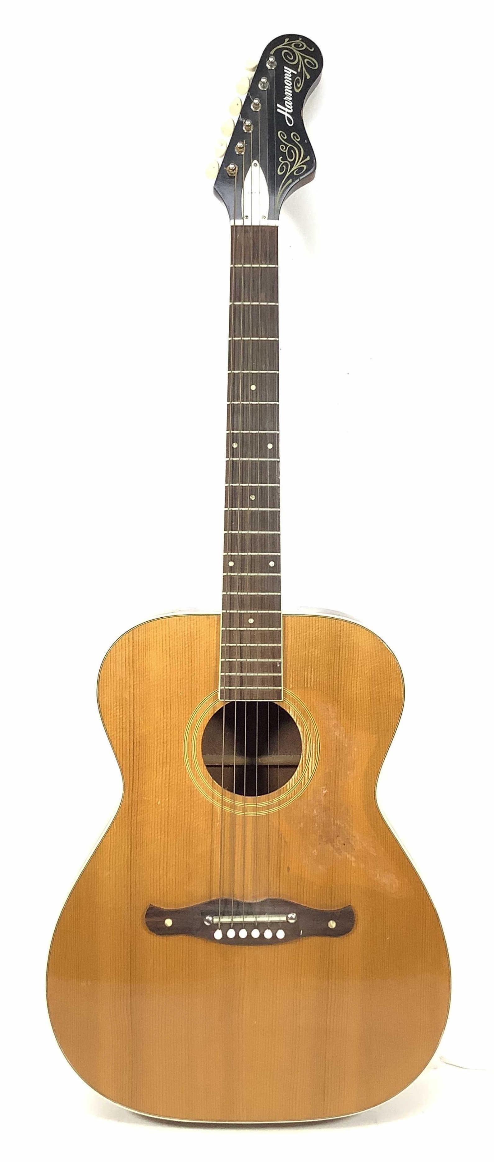 Vintage USA Harmony Six String Acoustic Guitar