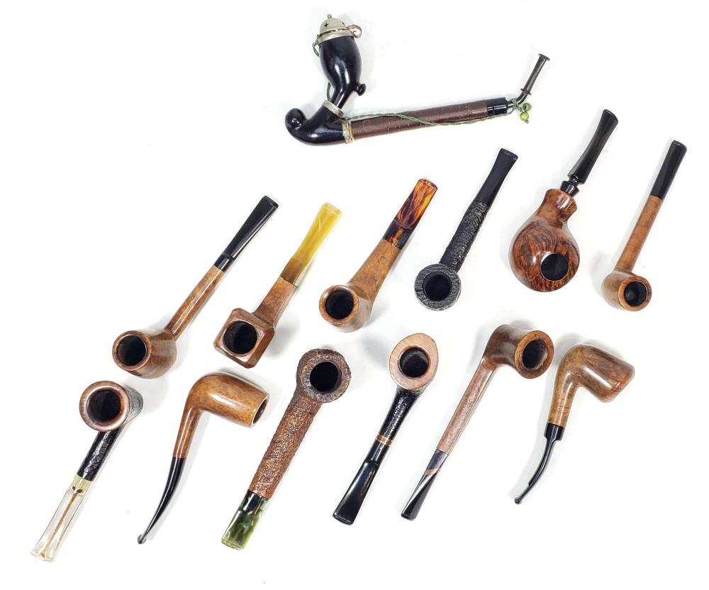 (13pc) Tobacco Pipes, Savinelli Punto Oro
