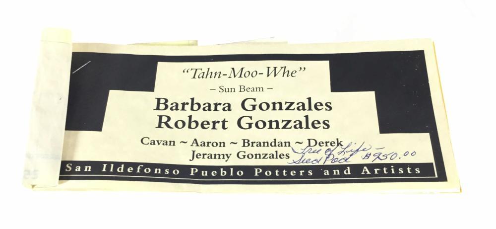Barbara & Robert Gonzales Tree Of Life Seed Pot