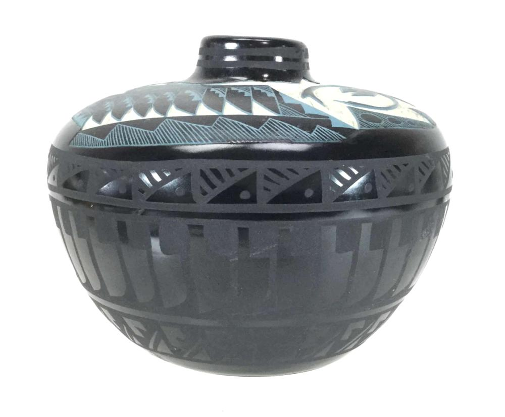 Marvin Blackmore Native American Scorpion Pot