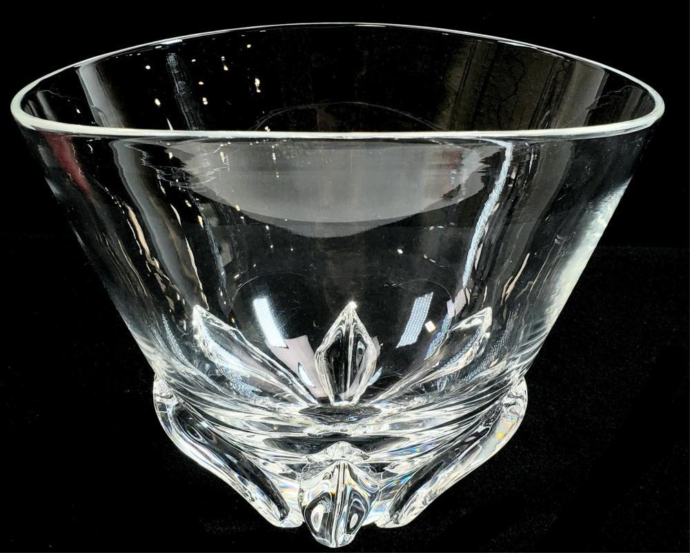 Steuben Signed Crystal Bowl