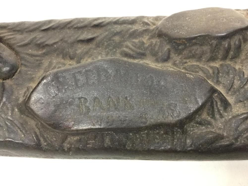 c.1890's CreedMoor J&e Stevens Mechanical Bank