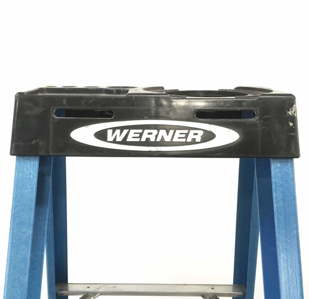 Werner 6 Ft. A-frame Fiberglass Ladder