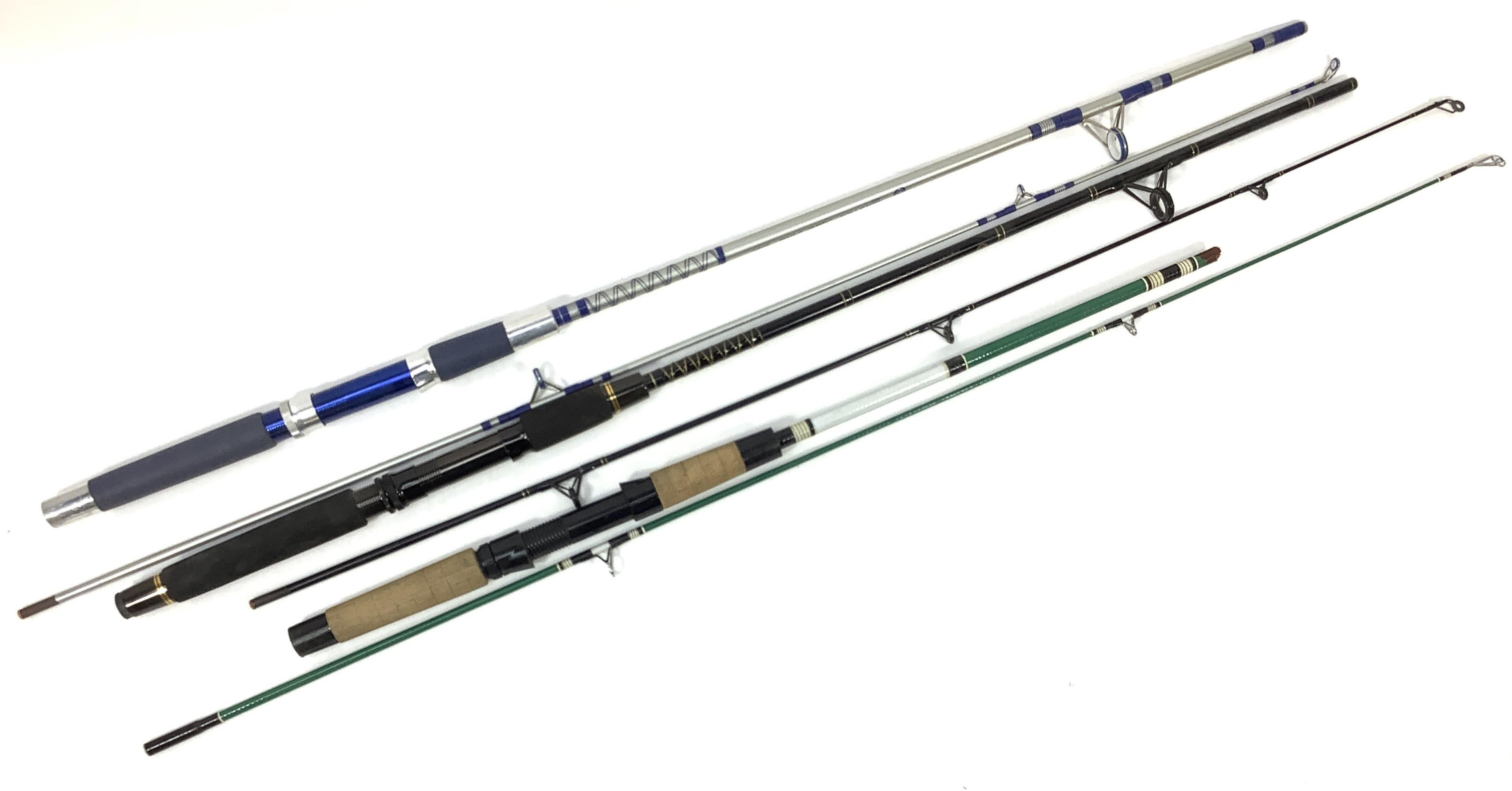 (3) Fishing Rods, Master Silver Series 3050