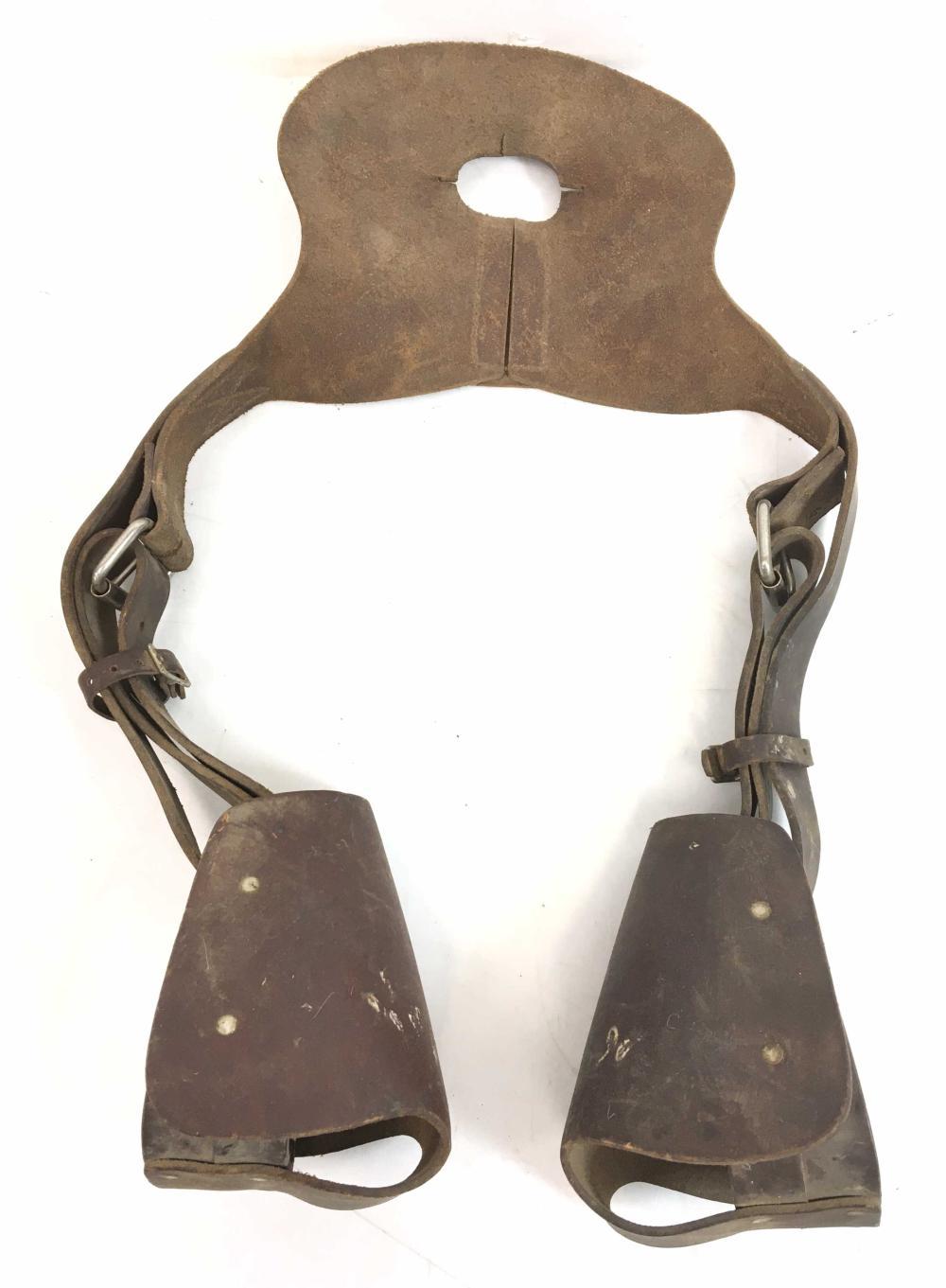 Vintage Kid's Leather Horse Equestrians Straps