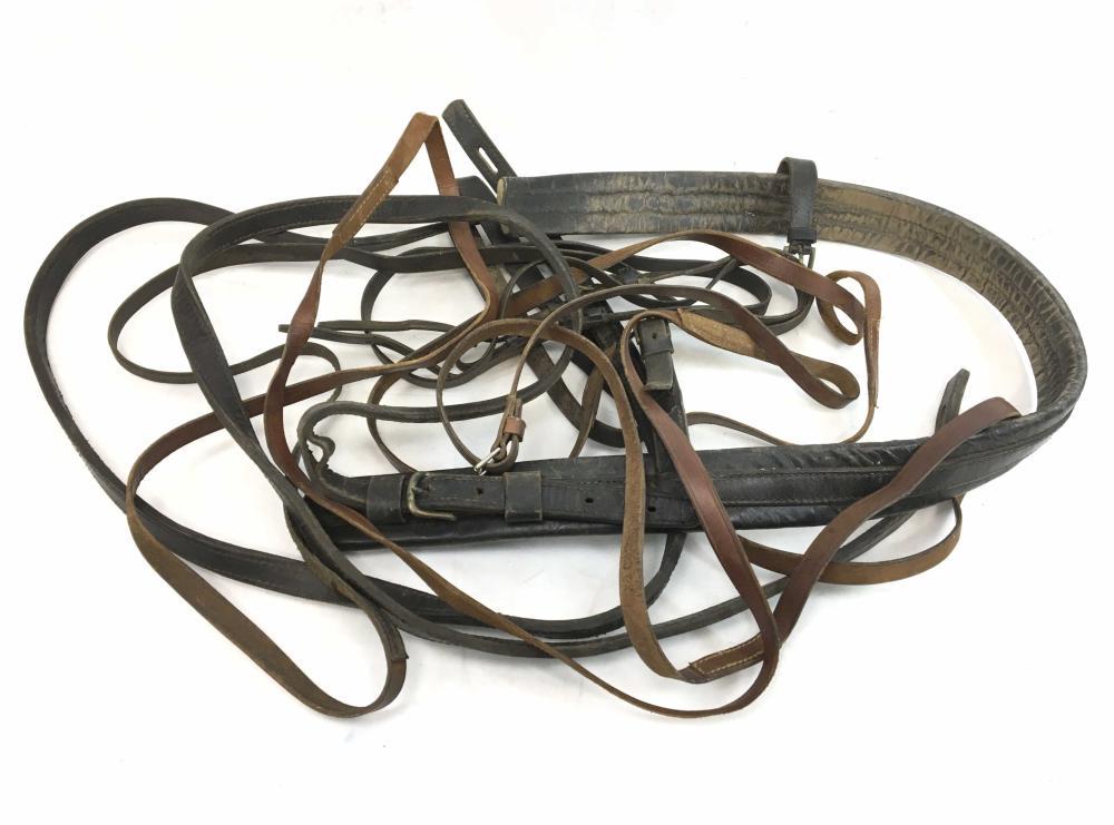 Vintage Leather Horse Straps