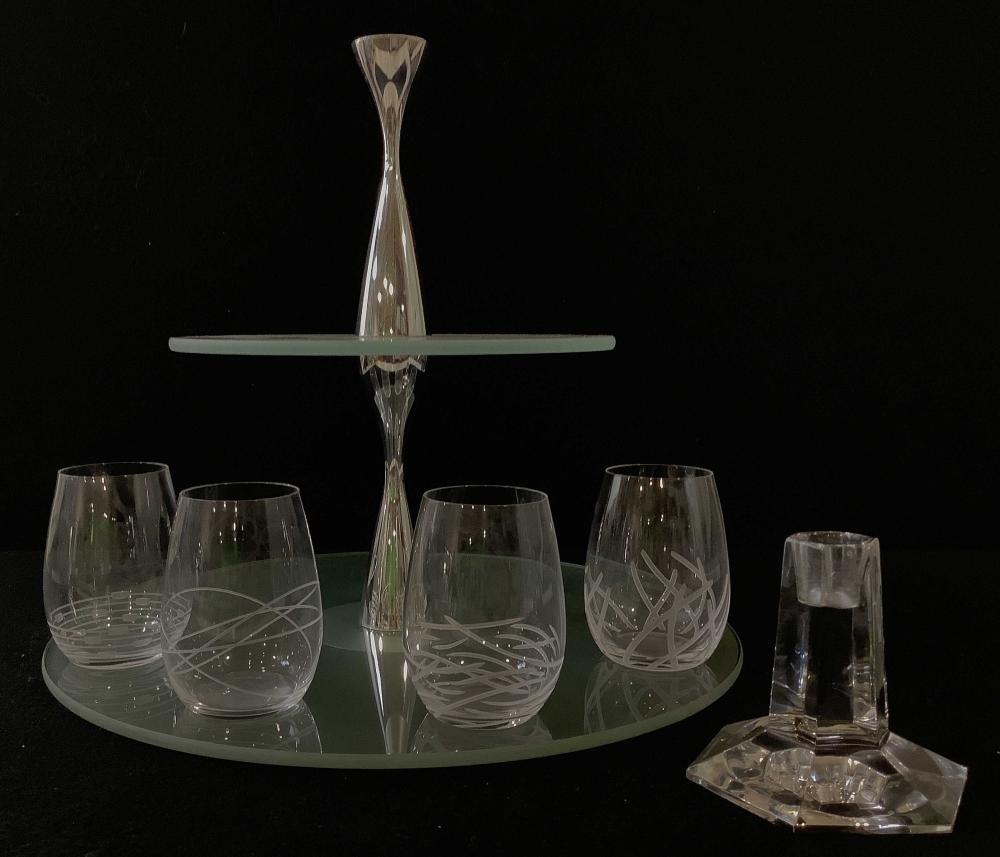 Tiffany & Co. Candlestick, Hors D'oeuvres Stand