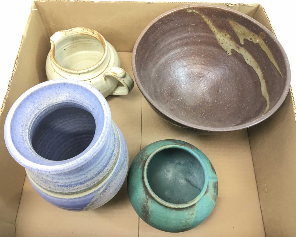 Mid-century Signed Rubenstein Vase & More