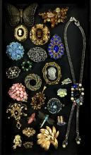 Fashion Jewelry Brooches W/ Kramer, Gerry,