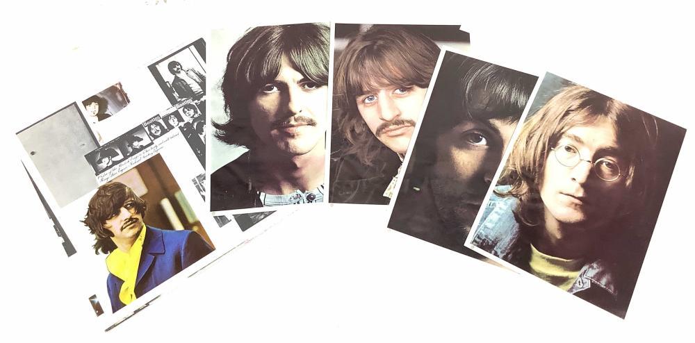 (6) Beatles Vintage Vinyl Records, White Album