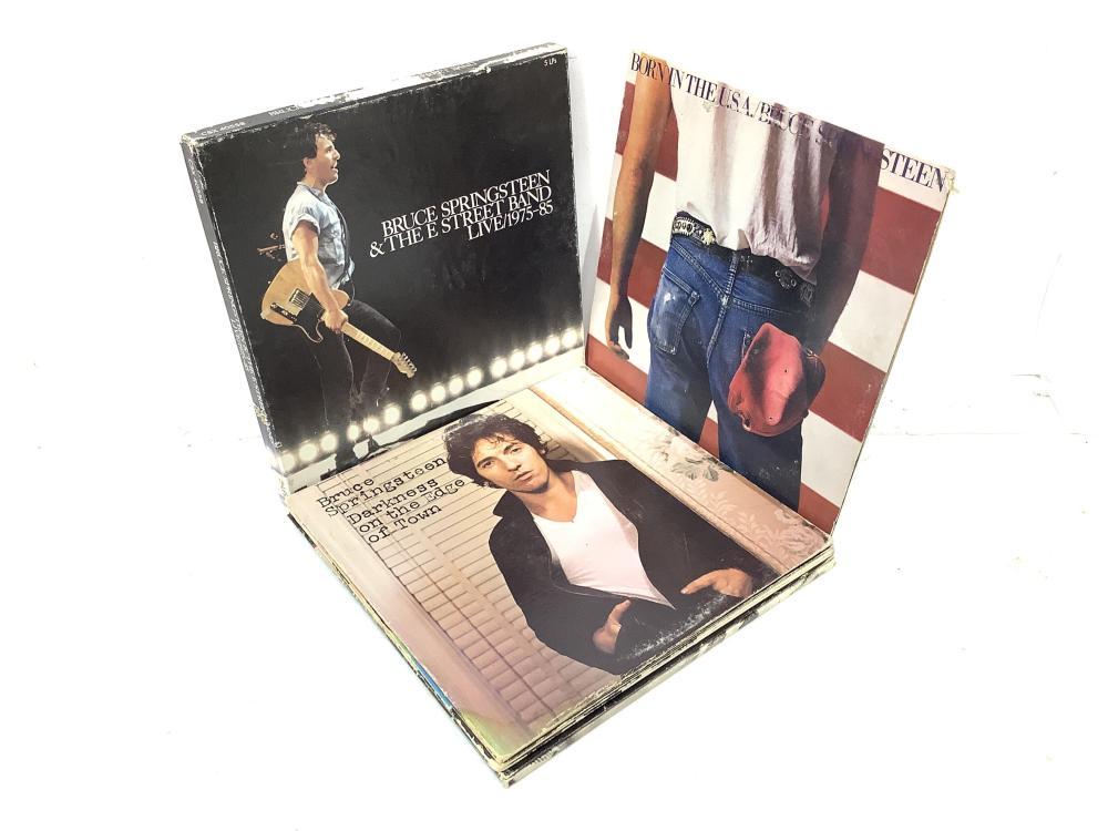 (6+1 Box Set) Bruce Springsteen Vintage Vinyl