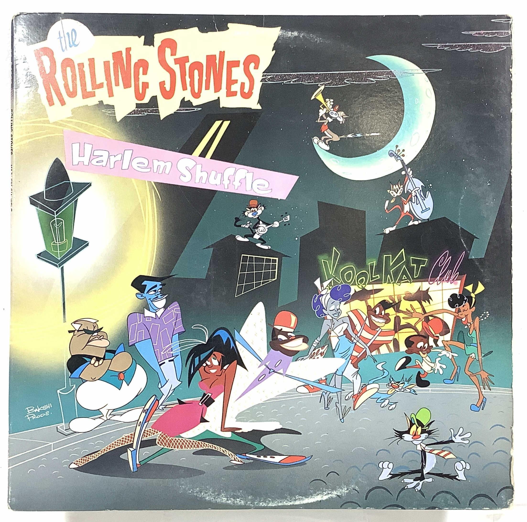 (15) Rolling Stones Vintage Vinyl Record Albums