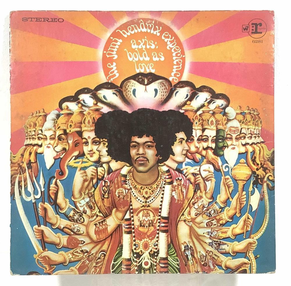 (11) Vintage Vinyl Records, Jimi Hendrix, Robin