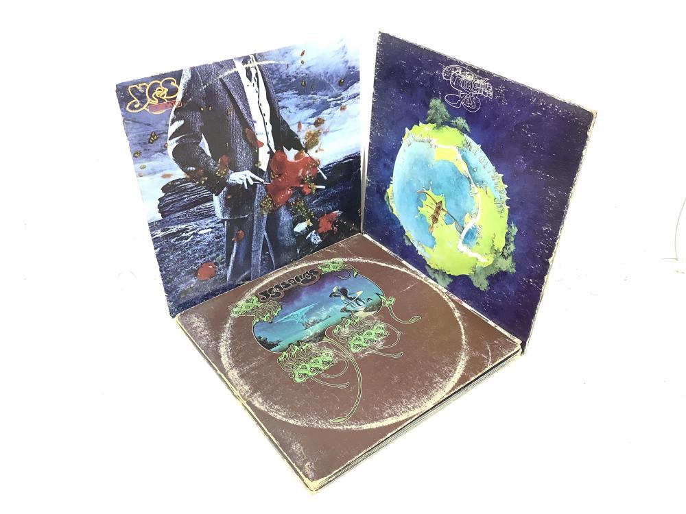 (13) Pink Floyd & Yes Vintage Vinyl Records