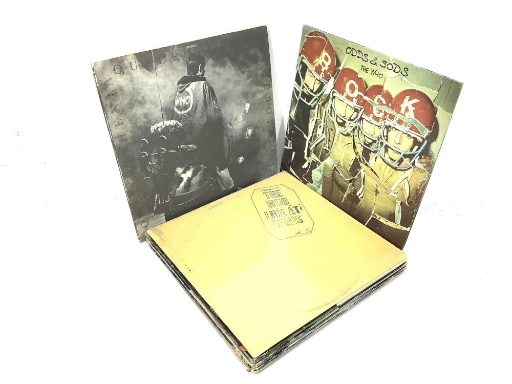 (10) The Who Vintage Vinyl Records, Live At Leeds
