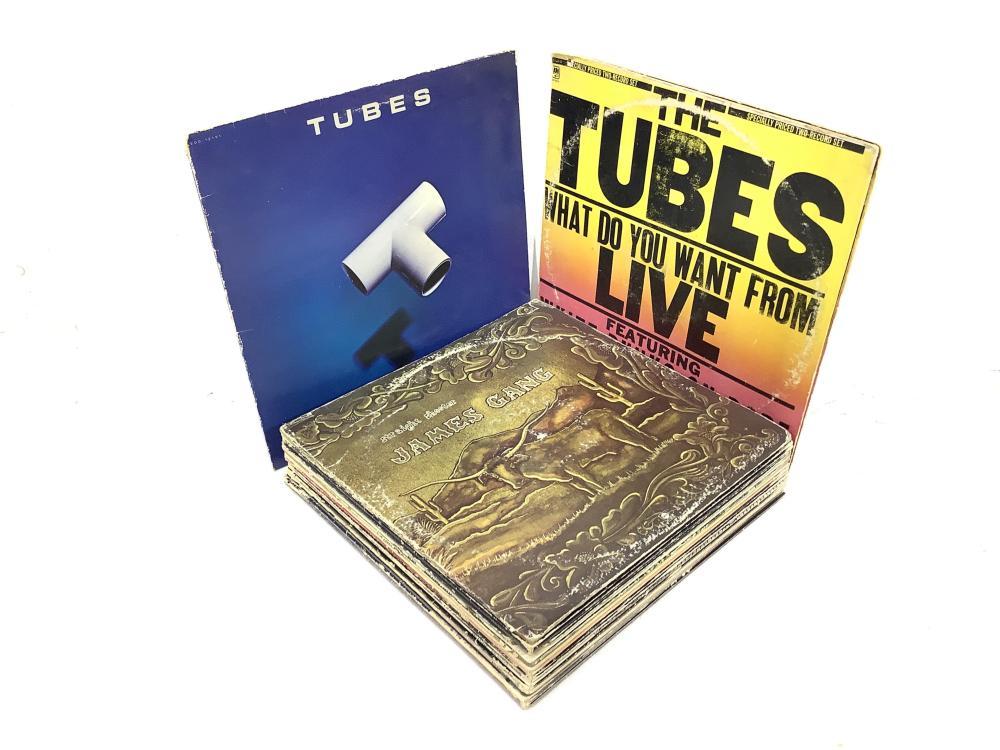 (21) Vintage Vinyl Records, The Tubes, James Gang