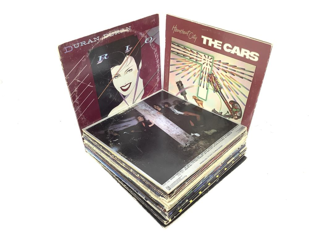 (27) Vintage Vinyl Records, The Cars, Randy