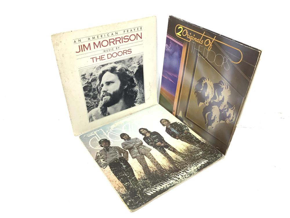 (14) Vintage Vinyl Records, Cream, Doors