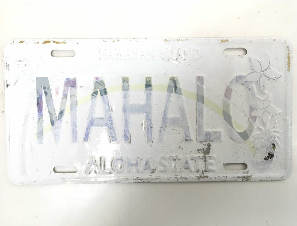 (14pc) Metal License Plates