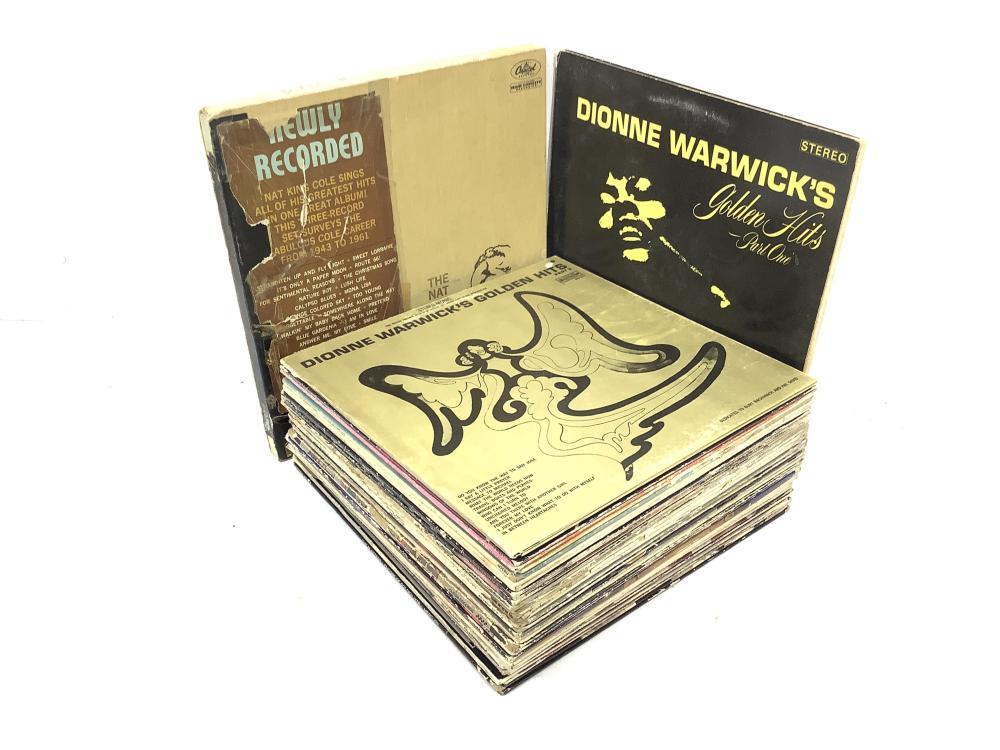 (32+1 Nat King Cole Box Set) Vintage Vinyl Records