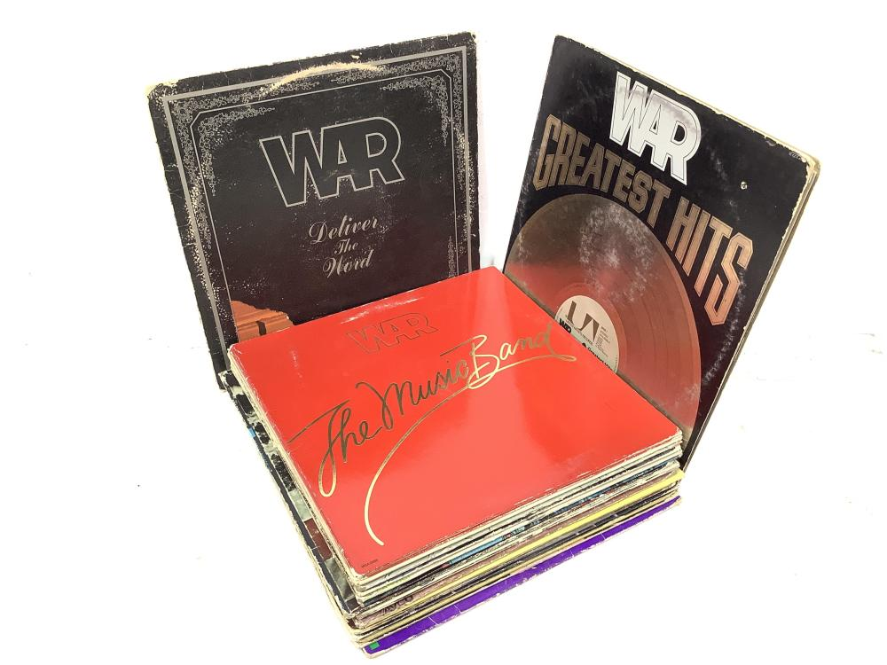 (35) Vintage Vinyl Records, War, Temptations