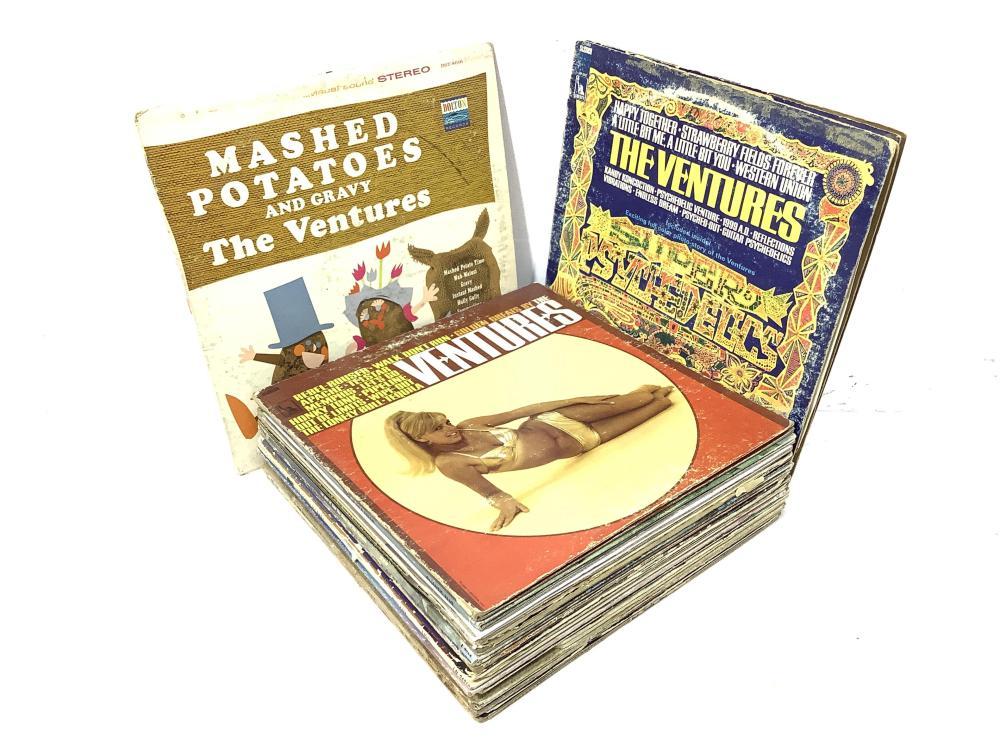 (25) Vintage Vinyl Records, Seeds, Ventures