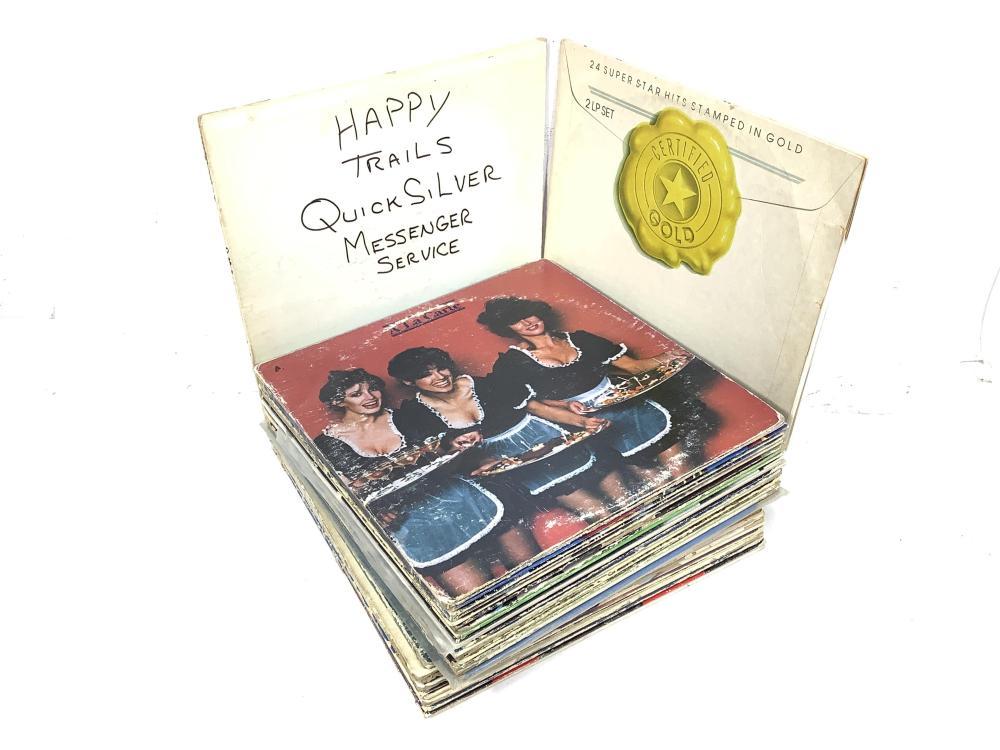 (35) Vintage Vinyl Records, Quiksilver