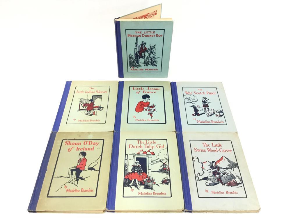(7) Vintage Madeline Brandies Paperback Books