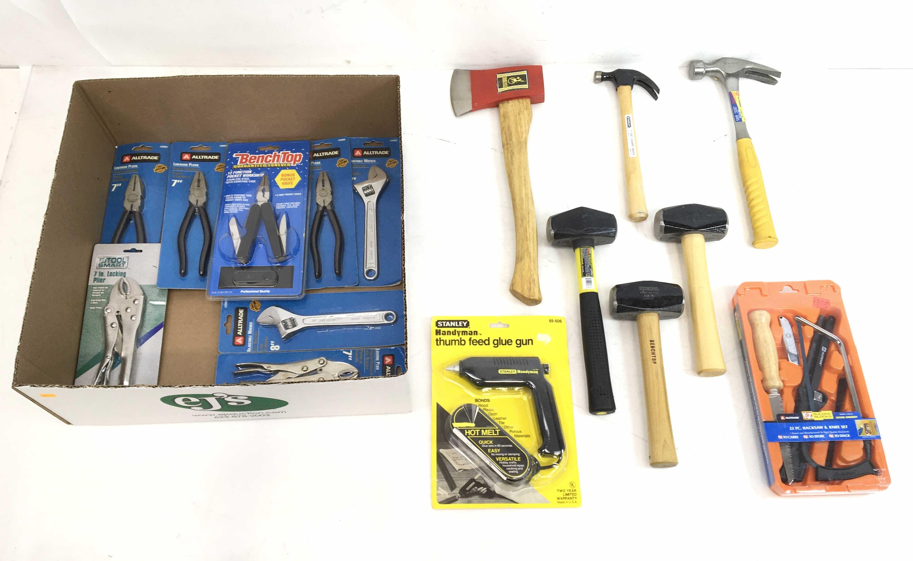 (16pc) Stanley, Alltrade, Bench Top, Tool Smart