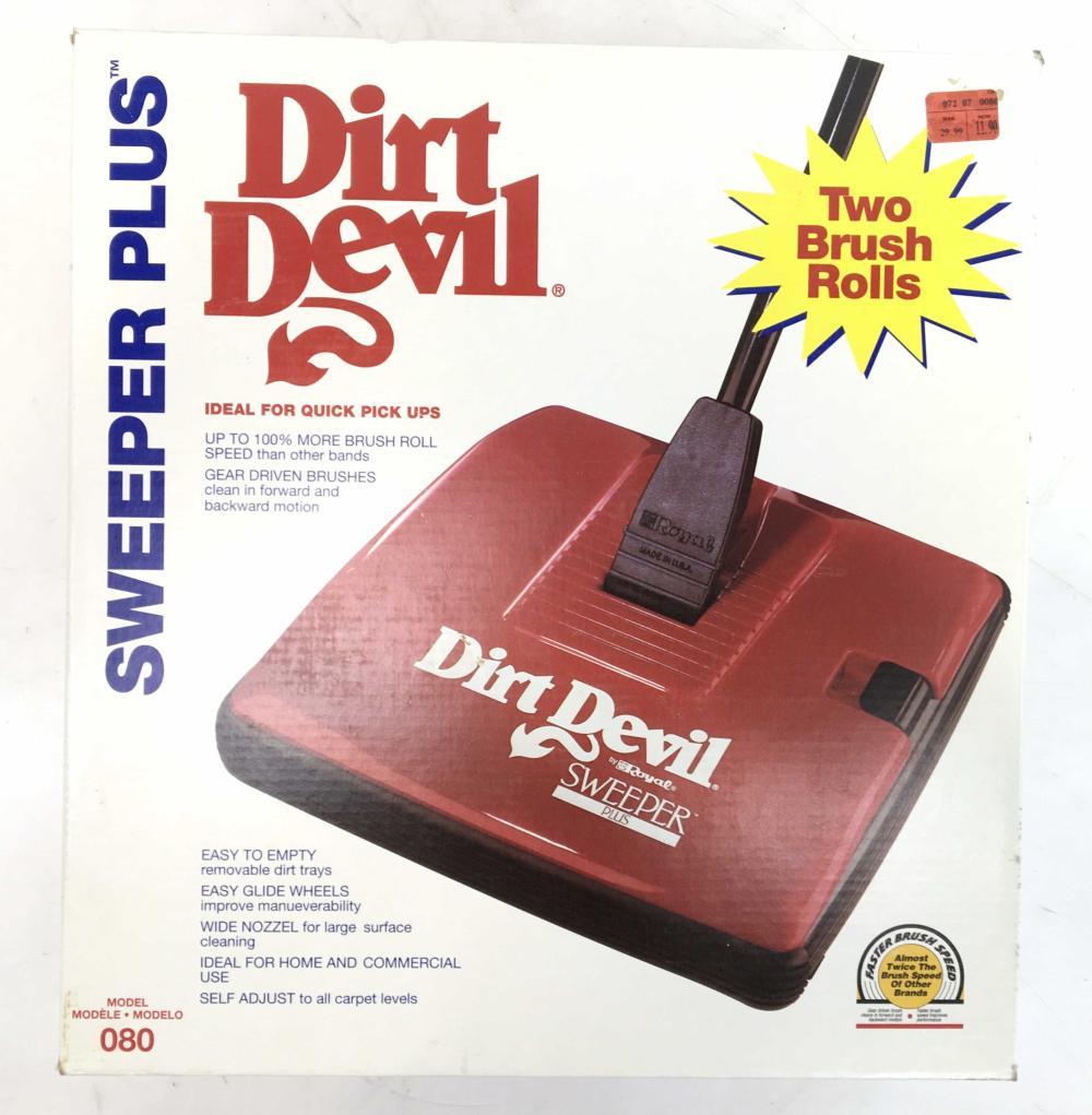 (2pc) Dirt Devil Sweeper Plus, Mop Vac 2