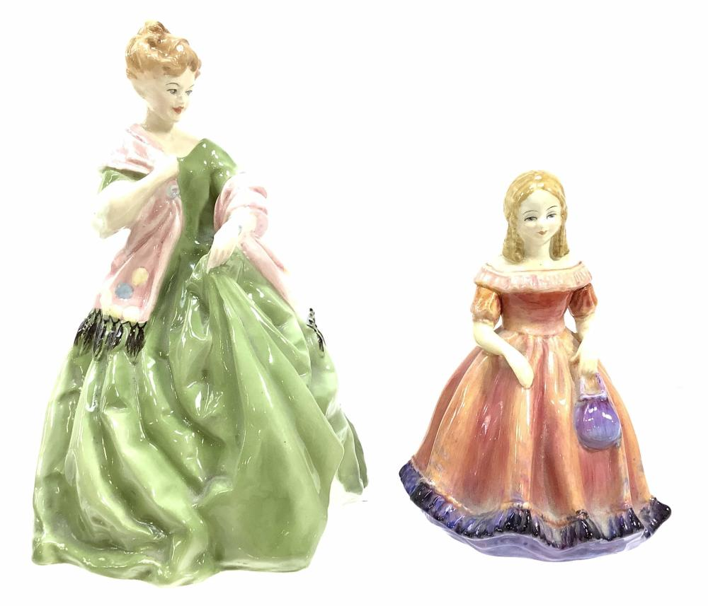 Royal Worcester & Paragon Figurines, Miss Margaret