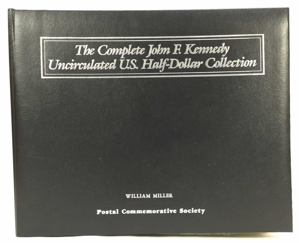 John F. Kennedy Uncirculated 1/2 Dollar Collection