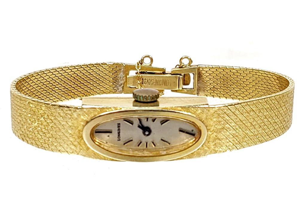 Vintage Swiss 14K Gold 17 Jewel Longines Watch