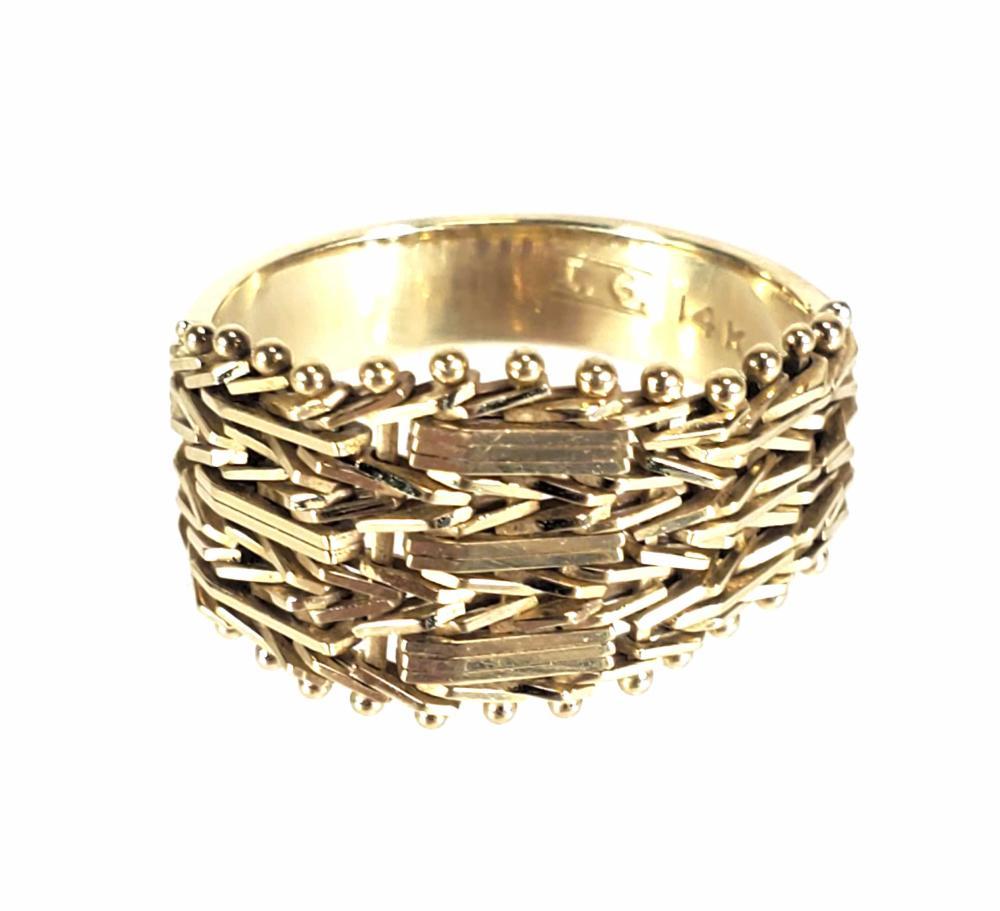 14K Gold Ring Size (5)