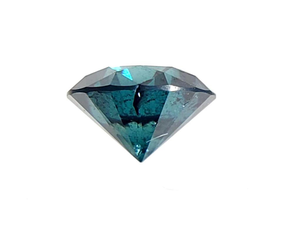 .64ct Round Green Diamond Gemstone