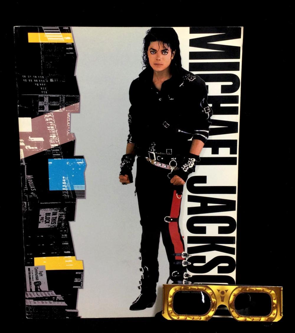 1988 Michael Jackson Bad World Tour Book