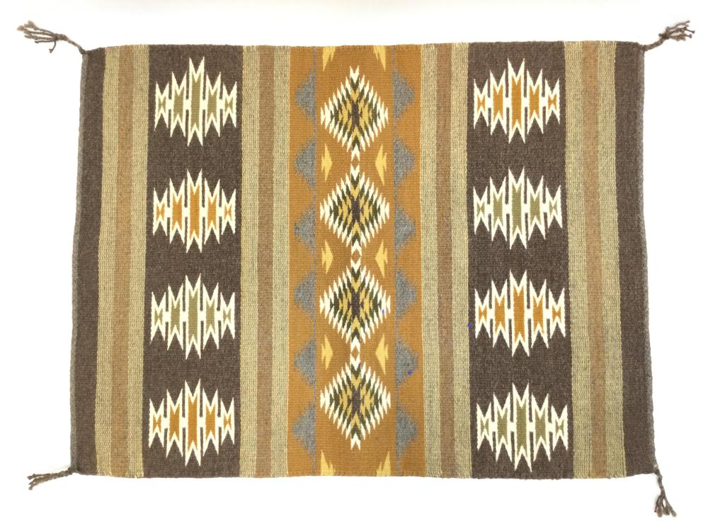 Native American Hand Woven Navajo Rug
