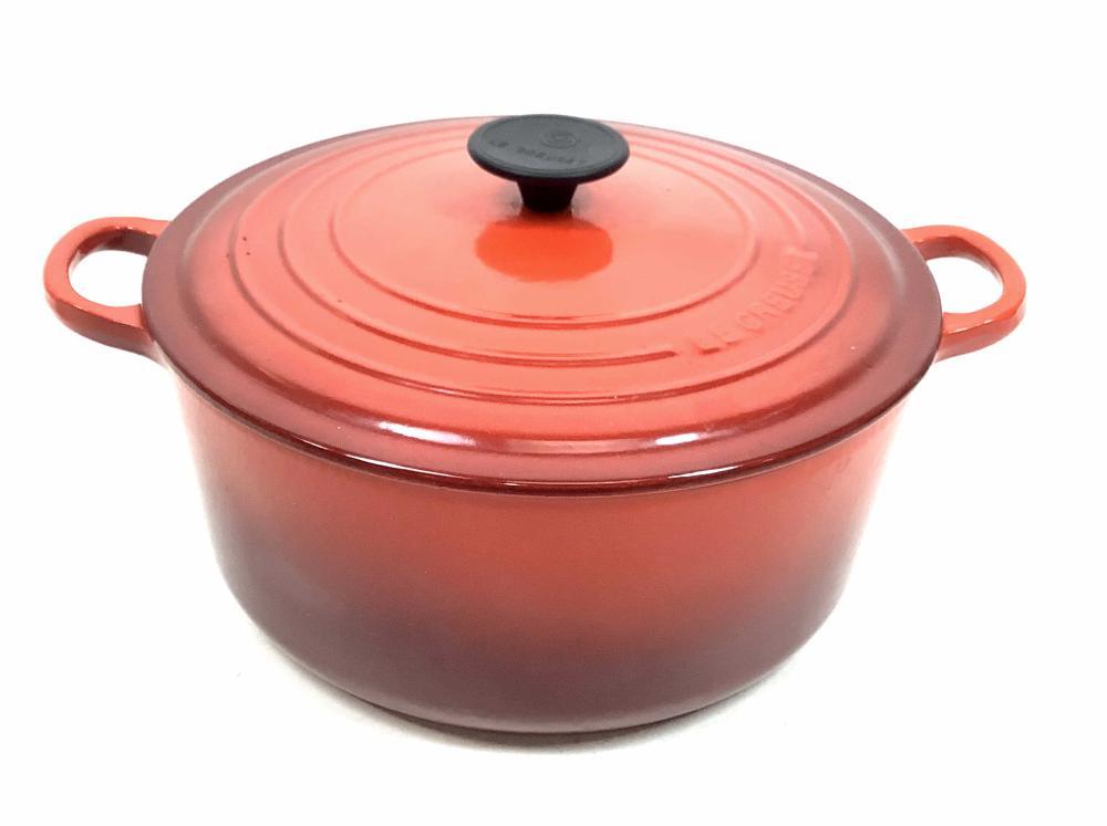 Le Creuset #26 Enamel Cast Iron Dutch Oven