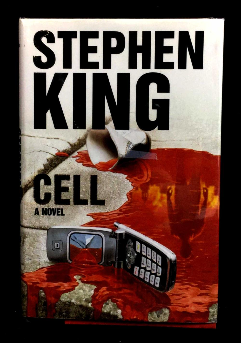 Stephen King Cell Hardcover Signed