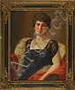 EDWIN B. CHILD, American, 1868-1937, Portrait, Oil on canvas, 29½