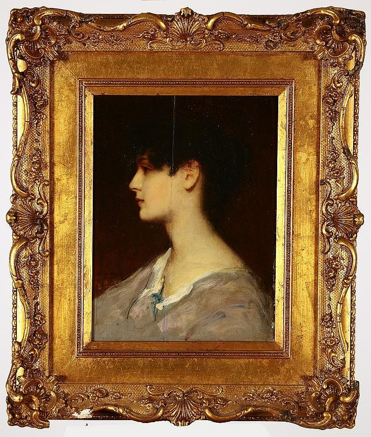 CHESTER HICKS LOOMIS, American, 1852-1924, Bust