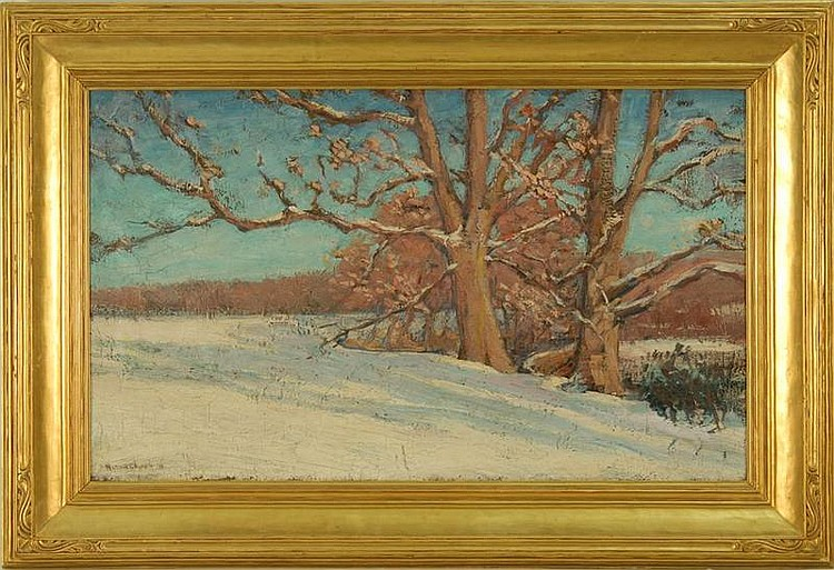 RUSSELL K. CHENEY American 1881-1945 Snowy
