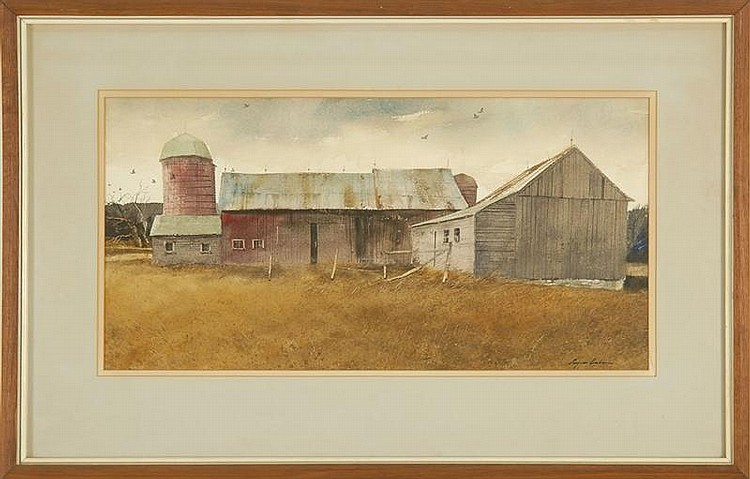 EUGENE CONLON - THE OLD RED BARN